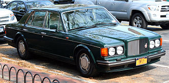 Bentley Turbo R - Image: 1993 Bentley Turbo R