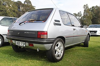 Peugeot 205 - 3-door (facelift)
