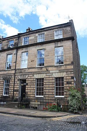 Charles Terrot - Terrot's home at 19 Northumberland Street, Edinburgh