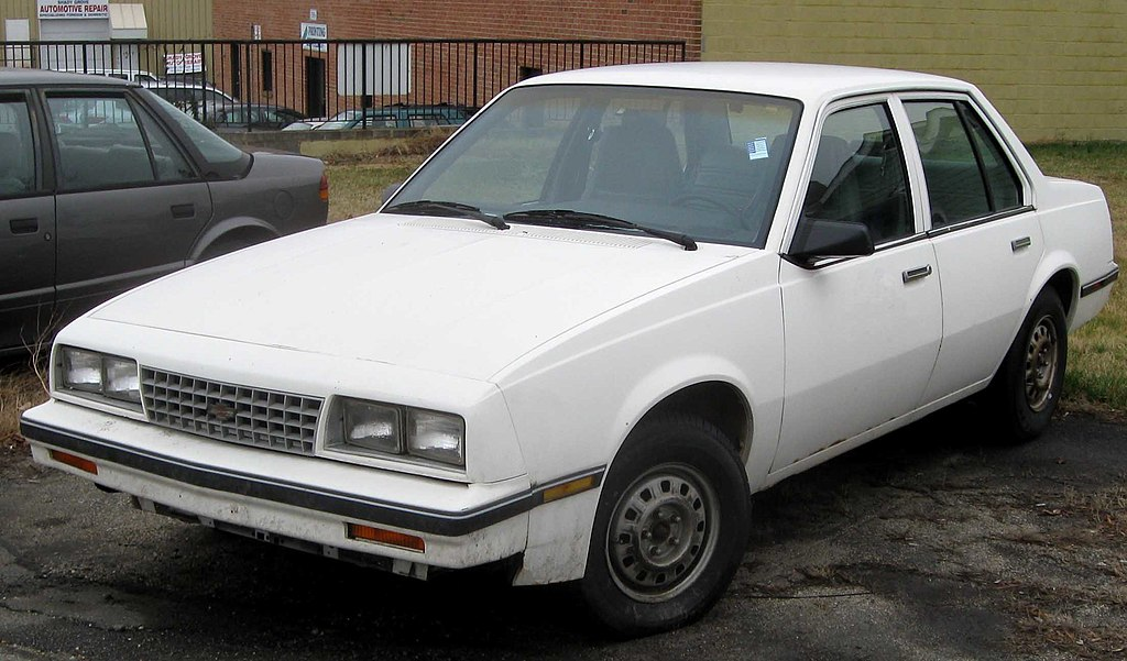 File:1st Chevrolet Cavalier sedan.jpg - Wikipedia, the free ...
