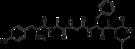 Kemia strukturo de DADLE.