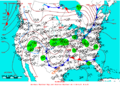 2005-03-25 Surface Weather Map NOAA.png