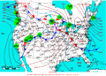 2007-02-19 Surface Weather Map NOAA.png