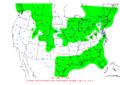 2008-01-19 24-hr Precipitation Map NOAA.png