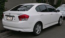 Honda City VTi (Australia; Pre Facelift).
