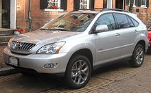 Lexus rx wikipedia lexus rx 350 pebble beach sciox Gallery