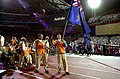 201000 - Opening Ceremony swimmers Paul Bird Brendan Burkett parades 3 - 3b - 2000 Sydney opening ceremony photo.jpg