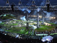 2012 Summer Olympics opening ceremony, Industrial Britain (cropped).jpg
