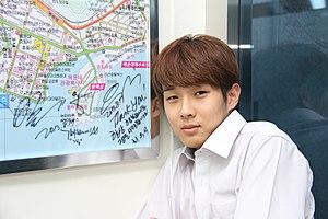 Choi Woo-shik - Image: 2013년 8월 부산광역시 해운대구 센텀119안전센터 심장이 뛴다 인트로 촬영 IMG 1386