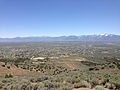 "2014-06-13 12 30 03 View southeast from the summit of ""E"" Mountain in the Elko Hills of Nevada.JPG"