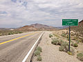 2014-07-17 13 21 53 View east along U.S. Route 6 about 20.1 miles east of the Esmeralda County Line at McKinney Tanks Summit, Nevada.JPG