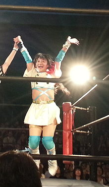 Description de l'image 20140707 Ai Shimizu at Shinjuku FACE.jpg.