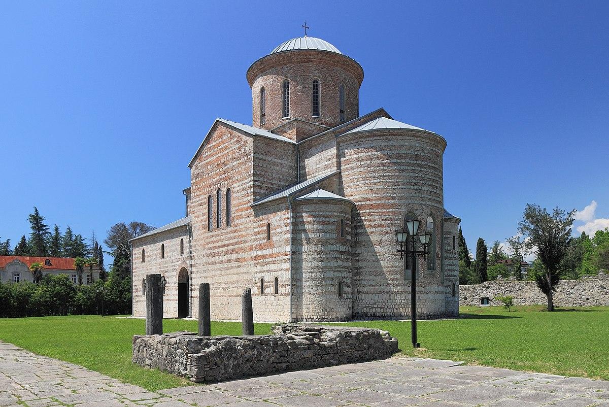 Пицундский храм  Википедия