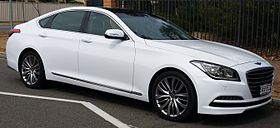 2015 Hyundai Genesis (DH) Ultimate Pack sedan (16331265353).jpg