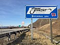 "2016-03-23 17 42 49 ""Tennessee Welcomes You"" sign along westbound Interstate 26 entering Unicoi County, Tennessee from Madison County, North Carolina.jpg"