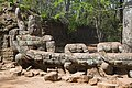2016 Angkor, Angkor Thom, Brama północna (03).jpg