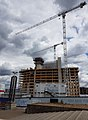 2016 Woolwich, Royal Arsenal, Waterfront construction site 15.jpg