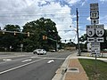 2017-07-05 13 32 41 View south along U.S. Route 17 Business (Main Street) at Virginia State Route 3 and Virginia State Route 14 (John Clayton Memorial Highway) in Gloucester Courthouse, Gloucester County, Virginia.jpg