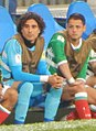 2017 Confederation Cup - MEXNZL - Ochoa and Chicharito.jpg