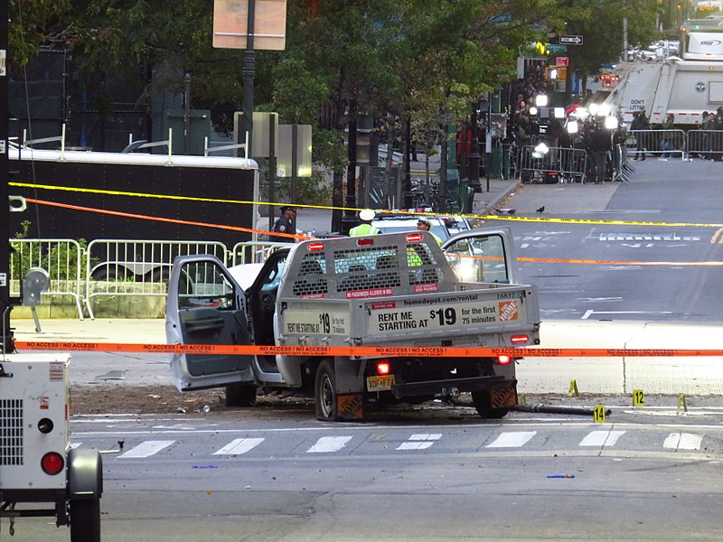 File:2017 NYC Truck Attack Home Depot Truck.jpg