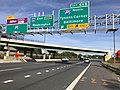 2018-10-19 15 29 11 View east along Interstate 66 at Exit 64B (Interstate 495 NORTH, Tysons Corner, Baltimore) in Merrifield, Fairfax County, Virginia.jpg