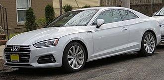 Audi A5 - 2018 Audi A5 Coupé 2.0 TFSI quattro (F5, USA)