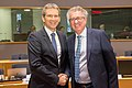 2018 Finanzminister Löger bei Eurogruppe und ECOFIN (39141812414).jpg
