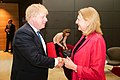 2018 Karin Kneissl Boris Johnson (26623368557).jpg