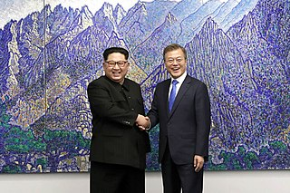 Inter-Korean summits Meeting between the leaders of North and South Korea