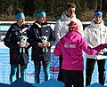 2020-01-15 Biathlon at the 2020 Winter Youth Olympics – Mixed Relay – Mascot Ceremony (Martin Rulsch) 19.jpg