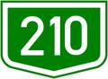 210-es fout (HU) otszogletu zold tabla.PNG