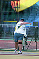 211000 - Athletics field discus Jodi Willis-Roberts action 3 - 3b - 2000 Sydney event photo.jpg