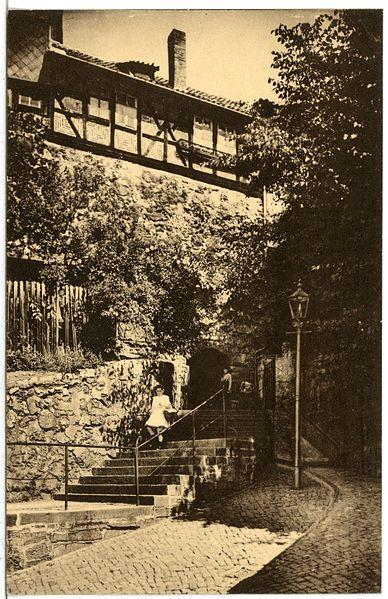 Datei:21345-Nordhausen-1919-Kutteltreppe-Brück & Sohn Kunstverlag.jpg