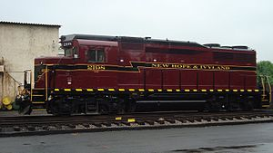 EMD GP30 - New Hope and Ivyland Railroad 2198