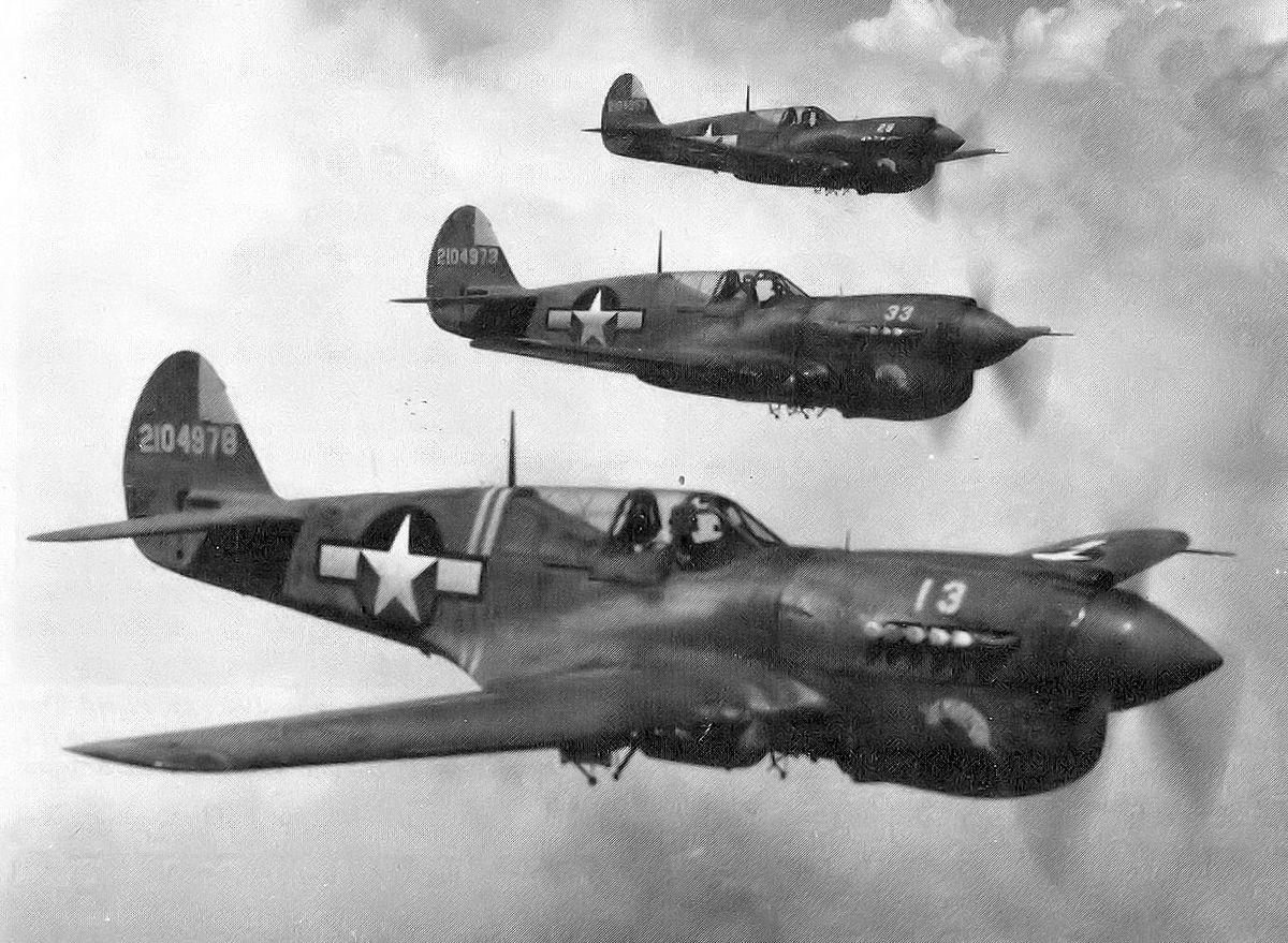 「カーチス 戦闘機」の画像検索結果