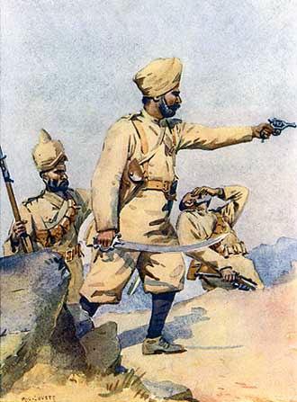 24th Punjabis - Image: 24th Punjabis, AC Lovett, 1910