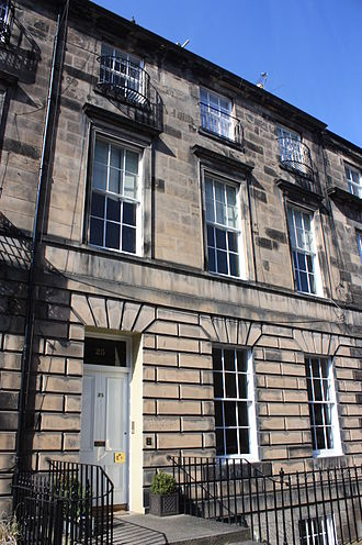 Andrew Combe - 25 Northumberland Street, Edinburgh, the Combe house