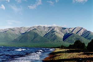 Siberia - The peninsula of Svyatoy Nos, Lake Baikal
