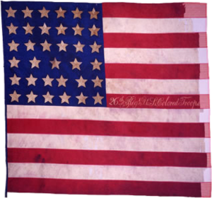 26th Regiment Infantry U.S. Colored Troops - National Flag of 26th Regiment USCI