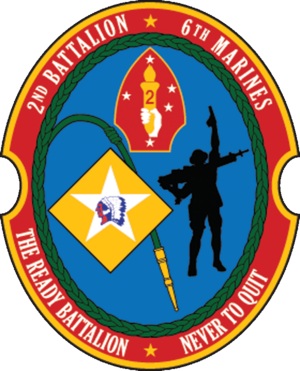 2nd Battalion, 6th Marines - 2nd Battalion, 6th Marine Regiment insignia