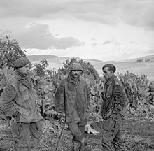 2nd Battalion Officers Tunisia 26 December 1942