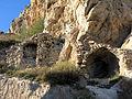 307 Ruïnes vora la roca Foradada, al poble de Foradada.JPG