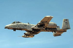 354th Fighter Squadron - Image: 354th Fighter Squadron Fairchild Republic A 10A Thunderbolt II 78 0670