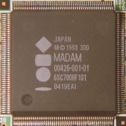 "Panasonic FZ-1 ""Madam"" graphics accelerator 3DO Madam Graphics Accelerator.jpg"