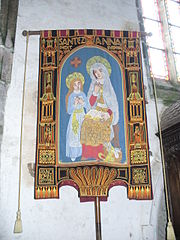 A processional banner