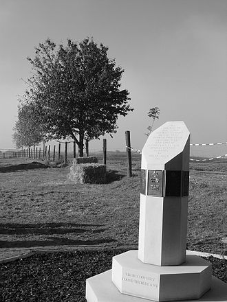 46th (North Midland) Division - Image: 46th Division Memorial Hohenzollern Redoubt