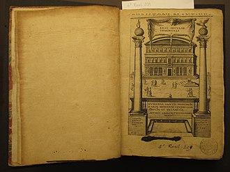 Benito Arias Montano - Humanae Salutis Monumenta (1571)