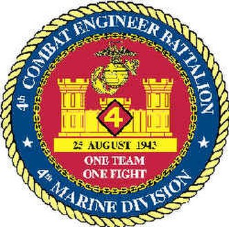 4th Marine Division (United States) - Image: 4th Combat Engineer Battalion