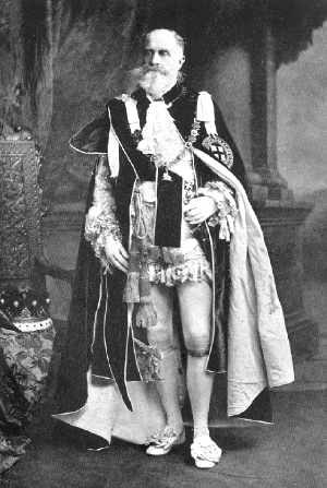 John Spencer, 5th Earl Spencer - Lord Spencer, in the robes of a Knight of the Garter (KG).