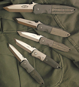 Crucible Industries - Ernest Emerson's CQC-6 knives